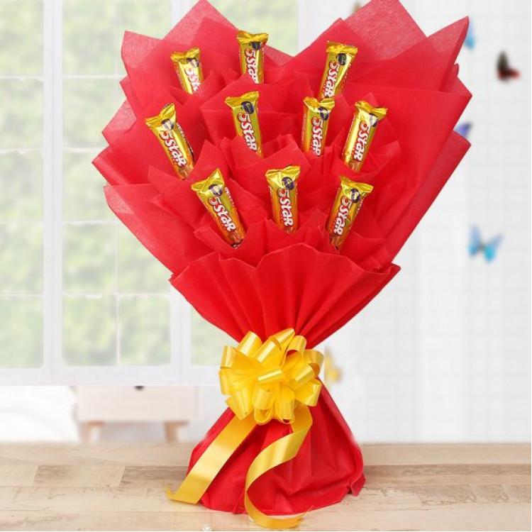 Chocolate Star Bouquet