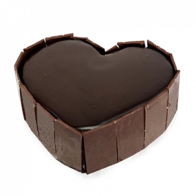 Heart Out Chocolate Cake