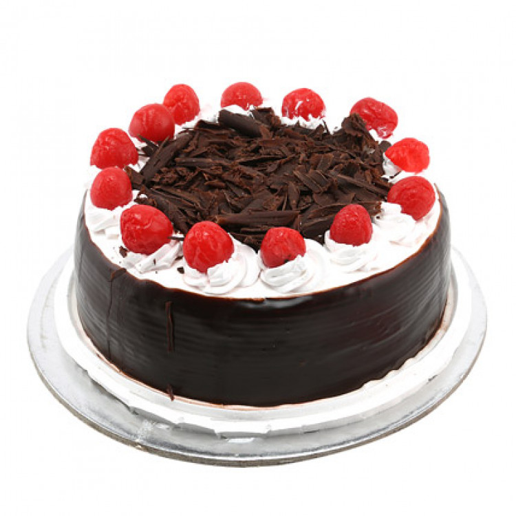 Black Forest Cake with Cherries