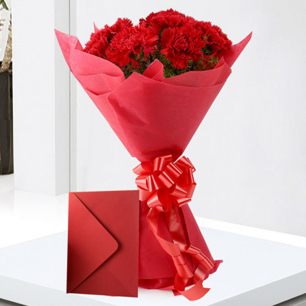 Cakes flower delivery in india at 10 off flowersnemotions carnations n greeting card izmirmasajfo