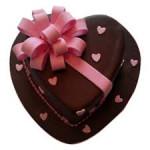 Love In Abundunce Valentine Cake