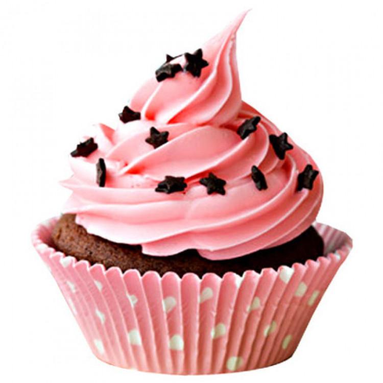 Chocolate Star Cupcakes