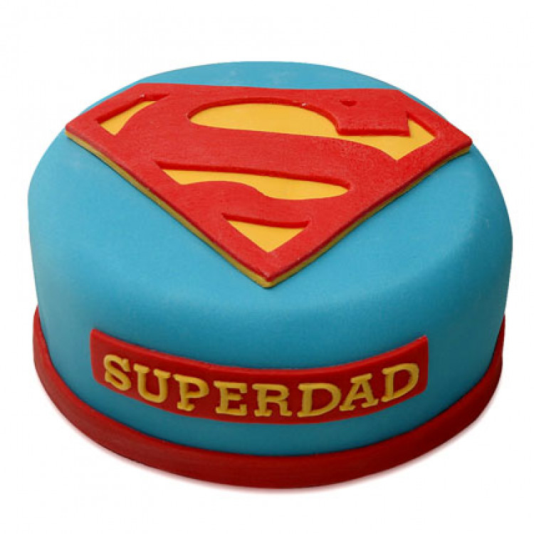 Delicious Super Dad Cake