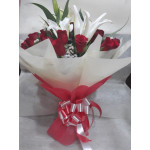 Mother's day Special Bouquet - Roses and Lilies
