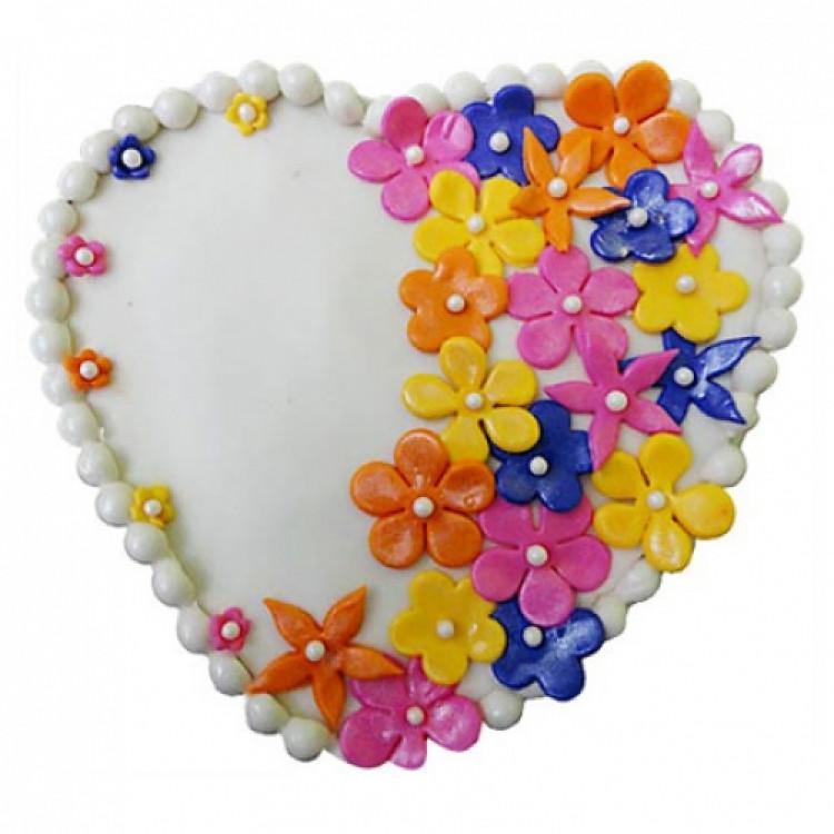 Flower Heart Cake 2kg