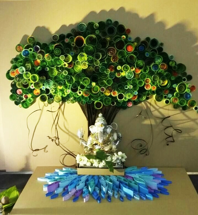 Eco Friendly Decoration Ideas For The Classy Look On Ganesh Chaturthi